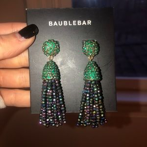 Baublebar rhinestone dangle earrings